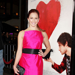 Amy Paffrath in The Premiere of Waiting For Forever