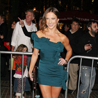 Edyta Sliwinska in The Premiere of Waiting For Forever