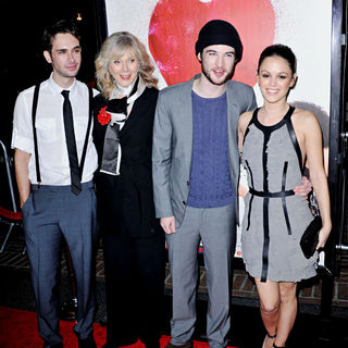Scott Mechlowicz, Blythe Danner, Tom Sturridge, Rachel Bilson in The Premiere of Waiting For Forever
