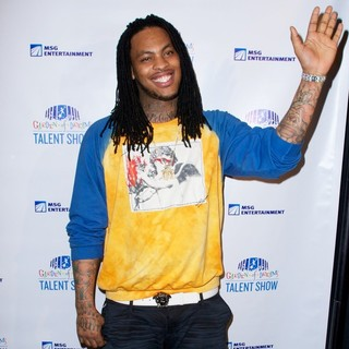 Waka Flocka Flame in 2013 Garden of Dreams Foundation Talent Show