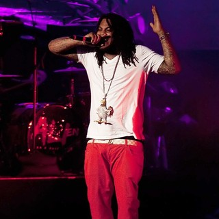 Waka Flocka Flame in Waka Flocka Flame Performs Live as Part of His Club Paradise Tour