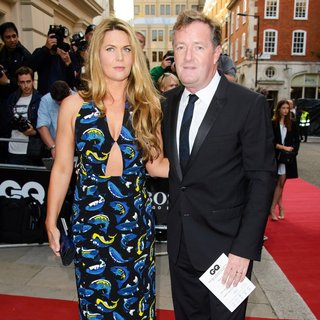 Celia Walden, Piers Morgan in The GQ Awards 2014 - Arrivals