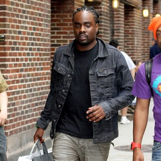 Wale in The Late Show with David Letterman - Arrivals