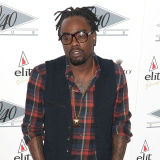 Wale in Grand Re-Opening of The 40-40 Club - Arrivals