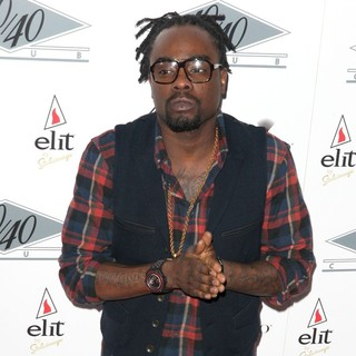 Wale - Grand Re-Opening of The 40-40 Club - Arrivals