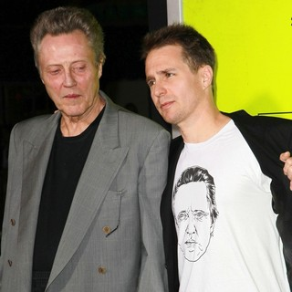 Christopher Walken, Sam Rockwell in Seven Psychopaths Los Angeles Premiere - Arrivals