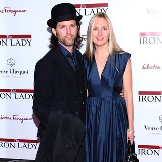 John Patrick Walker, Hope Davis in The New York Premiere of The Iron Lady