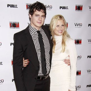 Benjamin Walker, Mamie Gummer in Opening Night of The Broadway Musical Production of Bloody Bloody Andrew Jackson - Arrivals