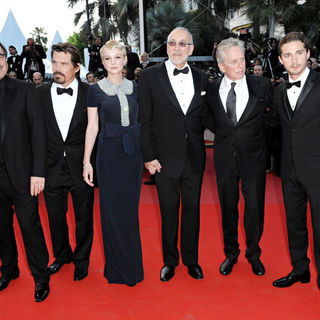 Shia LaBeouf, Oliver Stone, Josh Brolin, Carey Mulligan, Frank Langella, Michael Douglas in 2010 Cannes International Film Festival - Day 3 - 'Wall Street 2: Money Never Sleeps' Premiere