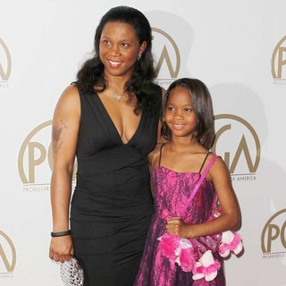 Qulyndreia Wallis, Quvenzhane Wallis in 24th Annual Producers Guild Awards - Arrivals