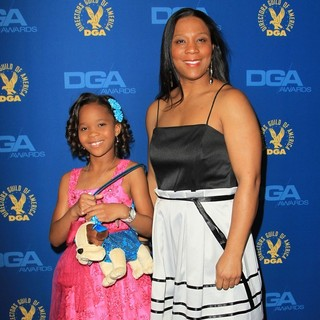 Quvenzhane Wallis, Qulyndreia Wallis in 65th Annual Directors Guild of America Awards - Arrivals