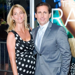 Nancy Walls, Steve Carell in World Premiere of Crazy, Stupid, Love - Arrivals
