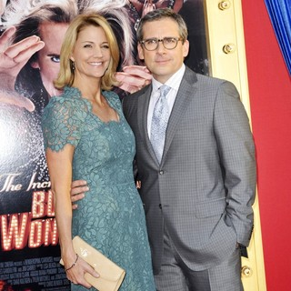 Nancy Walls, Steve Carell in Los Angeles Premiere of The Incredible Burt Wonderstone