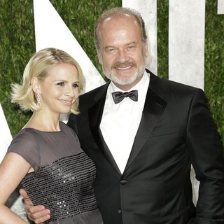 Kelsey Grammer in 2013 Vanity Fair Oscar Party - Arrivals - walsh-grammer-2013-vanity-fair-oscar-party-01