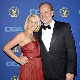 Kayte Walsh, Kelsey Grammer in 65th Annual Directors Guild of America Awards - Arrivals