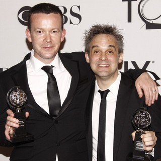 Enda Walsh, Martin Lowe in The 66th Annual Tony Awards - Press Room