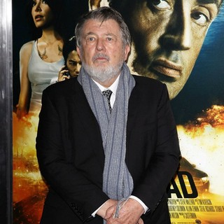 Walter Hill in New York Premiere of Bullet to the Head