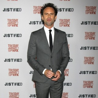 Walton Goggins in Justified Premiere Screening - Directors Guild of America
