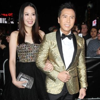 Cissy Wang, Donnie Yen-XXX: Return of Xander Cage Premiere