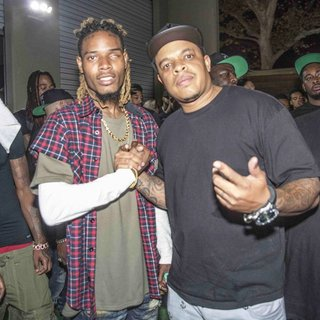 Fetty Wap, Curtis Young in Fetty Wap and Curtis Young Backstage at The Observatory