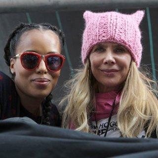Kerry Washington, Rosanna Arquette, Julia Louis-Dreyfus-Women's March