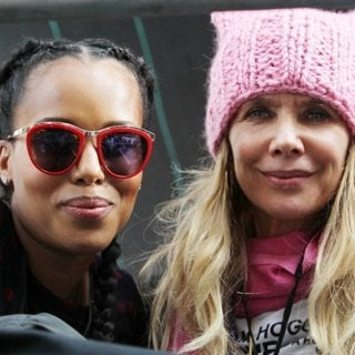 Kerry Washington, Rosanna Arquette-Women's March