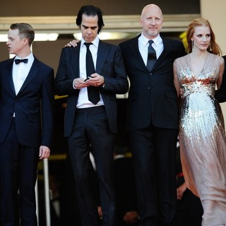 Mia Wasikowska, Dane DeHaan, Nick Cave, John Hillcoat, Jessica Chastain, Shia LaBeouf in Lawless Premiere - During The 65th Annual Cannes Film Festival