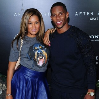 Elaina Watley, Victor Cruz in New York Premiere of After Earth