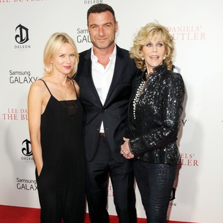 Naomi Watts, Liev Schreiber, Jane Fonda in New York Premiere of Lee Daniels' The Butler - Red Carpet Arrivals