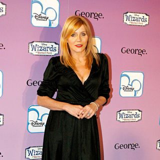 Michelle Collins in The launch of Disney Channel's 'Wizards of Waverly Place' fashion range with George - Arrivals