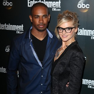 Damon Wayans Jr., Eliza Coupe in Entertainment Weekly and ABC TV Celebrate The New York Upfronts with A VIP Cocktail Party - Arrivals