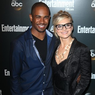 Eliza Coupe in Entertainment Weekly and ABC TV Celebrate The New York Upfronts with A VIP Cocktail Party - Arrivals - wayans-jr-coupe-entertainment-weekly-and-abc-tv-celebrate-new-york-upfronts-02