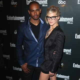 Eliza Coupe in Entertainment Weekly and ABC TV Celebrate The New York Upfronts with A VIP Cocktail Party - Arrivals - wayans-jr-coupe-entertainment-weekly-and-abc-tv-celebrate-new-york-upfronts-03