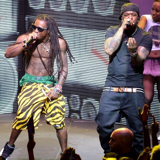 Lil Wayne, Birdman in Lil Wayne and Birdman Performing Live on The Nicki Minaj Tour