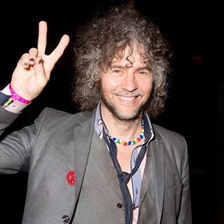 Wayne Coyne, The Flaming Lips in Back Stage at The Fun Fun Fun Festival