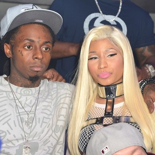 Lil Wayne, Nicki Minaj in Nicki Minaj Hosts Pink Friday: Roman Reloaded Album Release Party