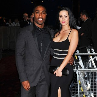 Simon Webbe, Maria Koukas in Abduction - UK Film Premiere - Arrivals