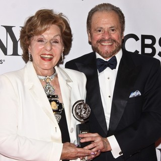 Fran Weissler, Barry Weissler in The 67th Annual Tony Awards - Press Room