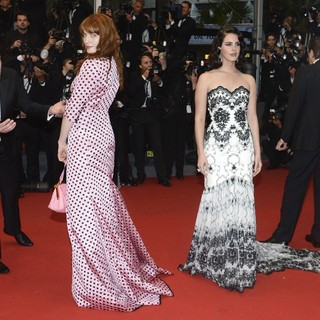 Florence Welch, Lana Del Rey in Opening Ceremony of The 66th Cannes Film Festival - The Great Gatsby - Premiere