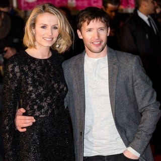 Sofia Wellesley, James Blunt in The 15th NRJ Music Awards - Arrivals