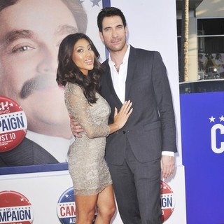 Shasi Wells, Dylan McDermott in Los Angeles Premiere of The Campaign - Arrivals