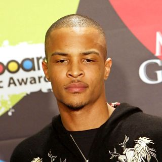 T.I. in 2006 Billboard Music Awards Press Room