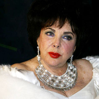 Elizabeth Taylor in Elizabeth Taylor Celebrates Her 75th Birthday