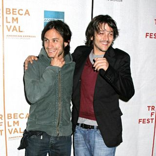 "Gael Garcia Bernal, Diego Luna in Tribeca Film Festival Presents ""Chavez"" Press Conference"