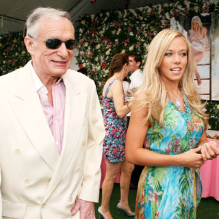 Hugh Hefner, Kendra Wilkinson in Playboy's 2007 Playmate of The Year Luncheon