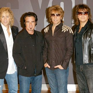 Bon Jovi in Bon Jovi Photocall