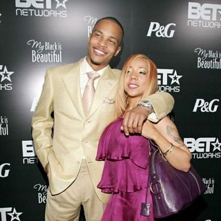 T.I., Tameka Cottle in Pre-BET Awards Dinner and Party - Arrivals
