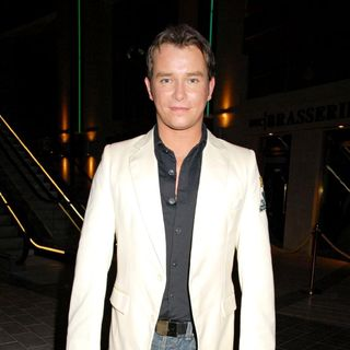 Stephen Gately, Boyzone in The Simpsons Movie' UK Premiere - After Party