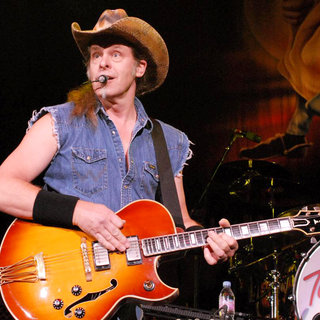 Ted Nugent in Ted Nugent Performing Live at US Cellular Coliseum
