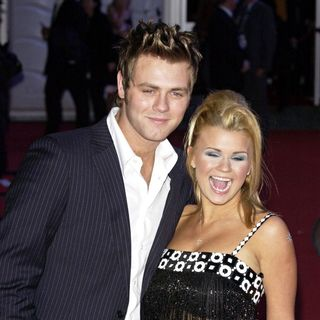 Brian McFadden, Kerry Katona in Brit Awards